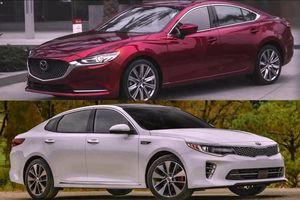 KIA Optima và Mazda 6: Cuộc chạy đua của hai mẫu xe nhà Thaco