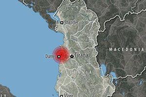 Động đất mạnh 6,4 độ làm rung chuyển thủ đô Tirana của Albania