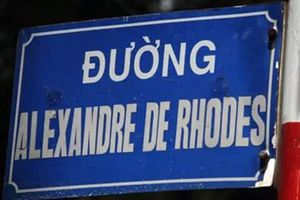 Đà Nẵng dừng đặt tên đường Alexandre de Rhodes