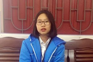 Hải Phòng: Nữ sinh nhặt được 67 triệu trả lại cho thầy giáo