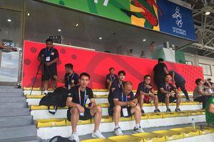 U22 Việt Nam đổi sân tập trước trận đấu với Lào