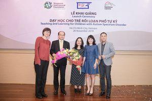 Singapore và Việt Nam hợp tác Giáo dục đặc biệt dành cho trẻ rối loạn phổ tự kỷ