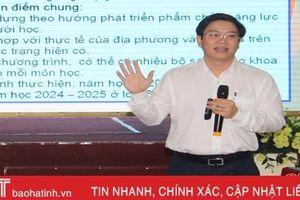 Hà Tĩnh triển khai chương trình giáo dục phổ thông cấp tiểu học