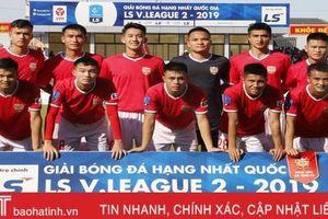 Hồng Lĩnh Hà Tĩnh tranh tài cùng 13 CLB tại V.League 2020 vào tháng 2 năm sau
