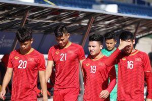 U.22 Việt Nam thuê sân tập trước ngày gặp Lào