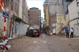 Cưỡng chế thu hồi đất để mở rộng ngõ Chùa Liên Phái, Hà Nội