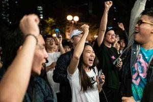 Giới truyền thông nhà nước Trung Quốc đồng loạt lên tiếng về kết quả bầu cử Hong Kong