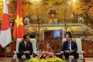 Phó Chủ tịch UBND Thành phố Nguyễn Doãn Toản tiếp Thống đốc tỉnh Kanagawa