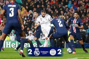 Real Madrid 2-2 PSG: 'Kền kền trắng' mất điểm đáng tiếc