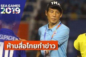 U22 Thái Lan đang căng thẳng: HLV người Nhật cấm toàn bộ phóng viên Thái tác nghiệp, fanpage chính thức của các đội tuyển Thái chặn fan Việt