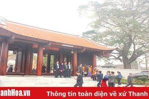 Công nhận Điểm du lịch Di tích lịch sử Phù Cẩm, Điện Thừa Hoa và Từ đường Phúc Quang