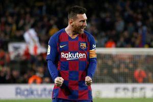Messi cán cột mốc không ai sánh được, kể cả Ronaldo