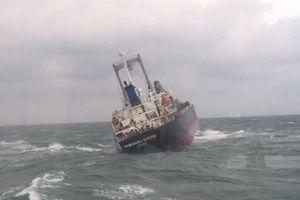 Hà Tĩnh: Cứu sống 18 thuyền viên Thái Lan gặp nạn trên biển