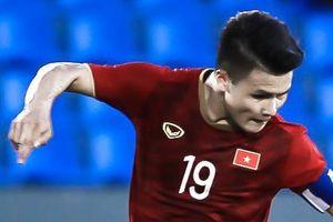 Quang Hải ấn định chiến thắng 6-1 cho U22 Việt Nam trước Lào