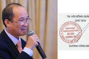 'Soi' chữ ký của các đại gia ngân hàng Việt