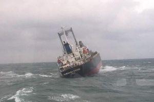 Cứu hộ thành công 18 thuyền viên tàu nước ngoài ở Cảng Sơn Dương