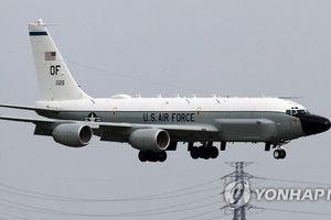 Ba máy bay trinh sát của Mỹ bay qua Bán đảo Triều Tiên