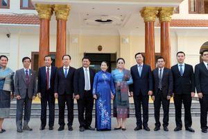 Lãnh đạo Thành phố Hồ Chí Minh chúc mừng Quốc khánh CHDCND Lào