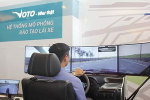 Hệ thống mô phỏng đào tạo lái xe chuẩn quốc tế đầu tiên của Việt Nam