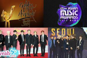 Sau những hụt hẫng từ AAA, fan Kpop vẫn còn những lễ trao giải đình đám để 'quẩy' cùng idol dịp cuối năm 2019