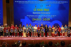 Hà Nội: Tổ chức Kỳ thi Olympic Toán học và Khoa học quốc tế