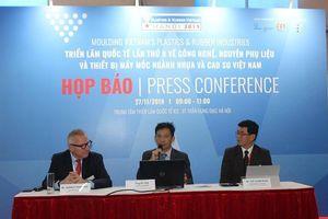 200 doanh nghiệp tham gia Plastics&Rubber Vietnam 2019