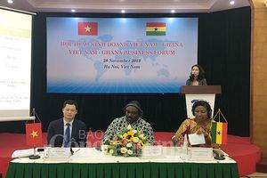 Việt Nam - Ghana: Cơ hội xuất nhập khẩu gạo và điều thô