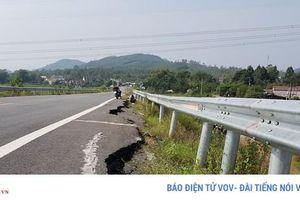Ai sửa chữa đường ngang dân sinh tuyến cao tốc Đà Nẵng - Quảng Ngãi?