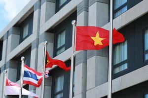 Quốc kỳ Việt Nam tung bay ở SEA Games 30