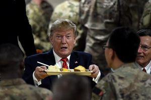 Lộ trình bí mật của ông Trump sang Afghanistan
