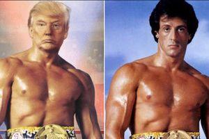 TT Trump đăng hình ghép với võ sỹ Rocky tạo ra cơn bão ảnh chế