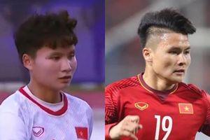 Cầu thủ nữ lập cú đúp ở trận gặp Indonesia được nói giống Quang Hải