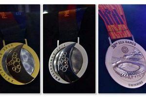 Cận cảnh mẫu huy chương SEA Games 30
