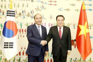 Thúc đẩy phát triển mạnh mẽ Việt Nam - Hàn Quốc