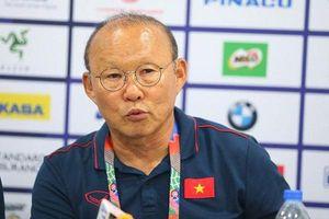 Sau 'cơn mưa' bàn thắng trước Lào, HLV Park tiết lộ về trận gặp Indonesia sắp tới