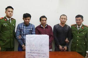 Nghệ An: Phá đường dây buôn ma túy 'khủng', thu giữ 10 bánh heroin, 9 kg ma túy đá