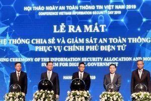 Bộ TT&TT khai trương 'Hệ thống Chia sẻ và Giám sát thông tin phục vụ Chính phủ điện tử'