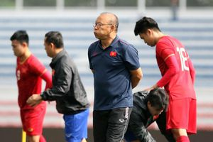 HLV Park Hang Seo ra quyết định bất ngờ trước đại chiến với Indonesia