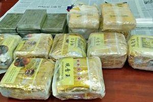 Bắt 4 đối tượng buôn ma túy với số lượng lớn