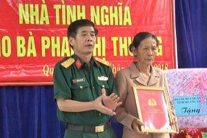 Trao 47 nhà tình nghĩa, nhà đồng đội cho gia đình khó khăn ở Quảng Nam