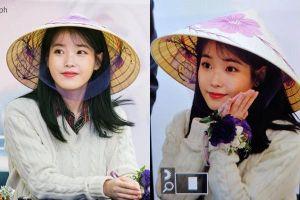 1001 khoảnh khắc 'cưng xỉu' khi IU đội nón lá, lên lịch hẹn hò fan Việt Nam