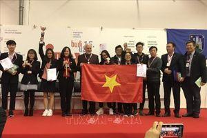 Việt Nam giành Cúp đặc biệt và HCV cuộc thi Phát minh sáng chế quốc tế INOVA