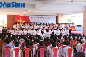 Trường ĐH Sư phạm Kỹ thuật Vĩnh Long tổ chức Lễ xuất cảnh 103 sinh viên đi làm việc tại Nhật Bản