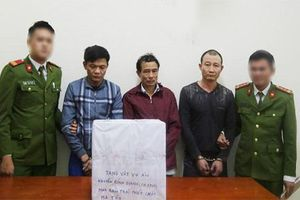 Nghệ An: Vận chuyển ma túy từ Lào về kinh doanh, 4 đối tượng bị bắt giữ