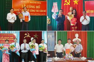 Tin tức nhân sự, lãnh đạo mới ở Khánh Hòa, Đồng Nai, Tây Ninh, Phú Yên