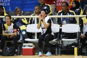 Công chúa Brunei chơi môn bóng lưới ở SEA Games