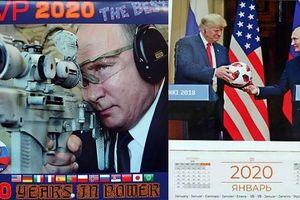 Bộ lịch TT Nga Putin năm 2020 có gì khác biệt?