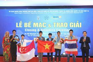 Hà Nội tổ chức thành công kì thi Toán và Khoa học quốc tế IMSO 2019