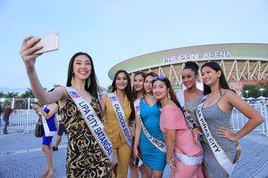 Dàn hoa hậu Philippines gây sốt ở lễ khai mạc SEA Games