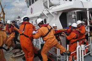 Tàu hàng chìm trên biển, thuyền trưởng Lường Xuân Hạnh tử vong